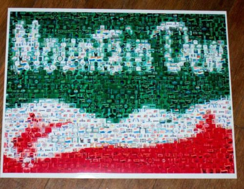 Amazing Vintage Mt. Mountain Dew sign PEPSI Montage , Mountain Dew - Mountain Dew, Final Score Products  - 1
