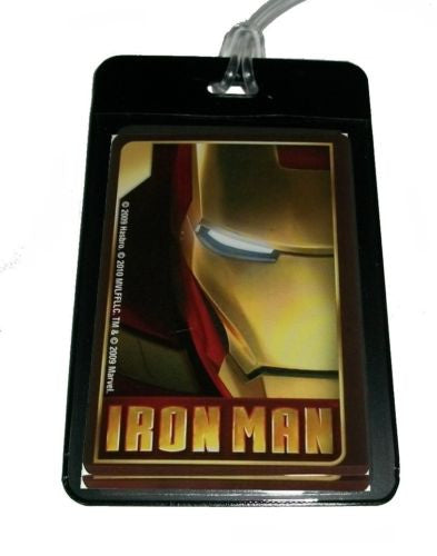 Iron Man Luggage or Book Bag Tag , Other - n/a, Final Score Products  - 1