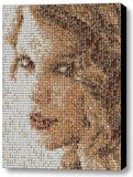 Incredible Framed Taylor Swift Mosaic 9X11 inch Limited Edition Art Print w/COA , Novelties - n/a, Final Score Products  - 1