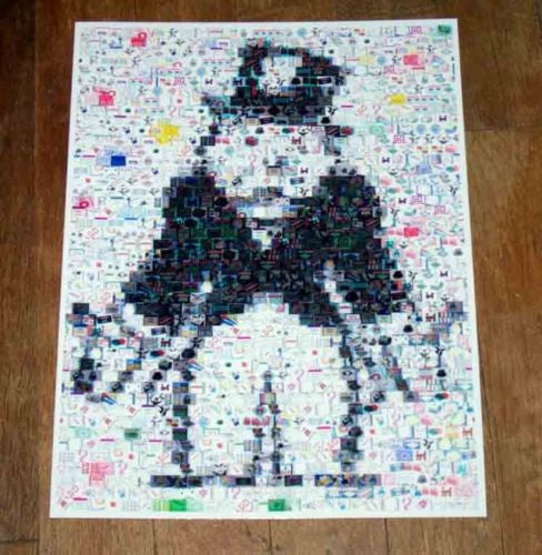 Amazing Rich Uncle Pennybags body MONOPOLY montage , Pre-1970 - n/a, Final Score Products  - 1