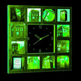 Doctor Dr. Who Tardis Glow In The Dark 12 Clock numbered LIMITED EDITION , Watches & Clocks - n/a, Final Score Products  - 2