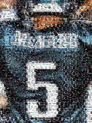 Amzng Philadelphia Eagles Donovan McNabb JERSEY Montage , Football-NFL - n/a, Final Score Products  - 1
