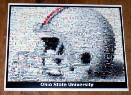 Amazing Ohio State Football Helmet Montage