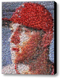 Amazing Framed Los Angeles Angels Mike Trout Bottlecap mosaic LE print , Baseball-MLB - n/a, Final Score Products  - 1