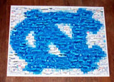 Amazng UNC North Carolina Tarheels Montage 1 of only 25 , College-NCAA - n/a, Final Score Products  - 1