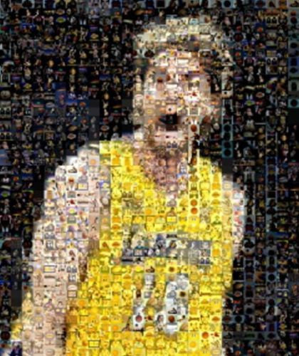 Amazing LA Lakers Pau Gasol Montage Limited Edition COA