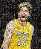 Amazing LA Lakers Pau Gasol Montage Limited Edition COA , Basketball-NBA - n/a, Final Score Products  - 1