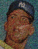 COOL 19X13 Mickey Mantle rookie Bottlecap mosaic print , Baseball-MLB - n/a, Final Score Products  - 1