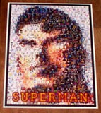 Amazing RARE SUPERMAN Montage 1 of only 25 ever! , Collections - n/a, Final Score Products  - 1