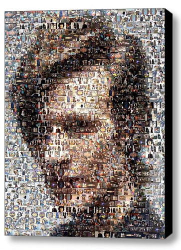 Framed Dr. Who Matt Smith mosaic 9X11 inch Limited Edition Art Print w/COA