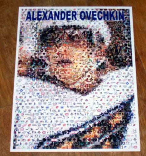 Amazing Capitals Alexander Ovechkin NHL rookie Montage , Hockey-NHL - n/a, Final Score Products  - 1