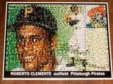 Amazing 1955 Roberto Clemente TOPPS Rookie card Montage , Baseball-MLB - n/a, Final Score Products  - 1