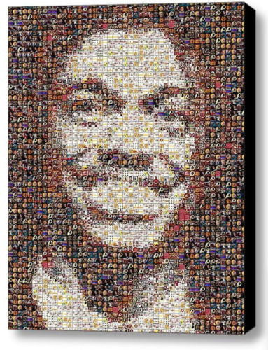 Framed Washington Redskins RG3 Mosaic 9X11 inch Limited Edition Art Print w/COA , Football-NFL - n/a, Final Score Products  - 1