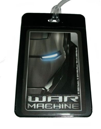 War Machine Iron Man Luggage or Book Bag Tag , Other - n/a, Final Score Products  - 1
