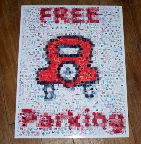 Amazing Monopoly FREE PARKING sign poster Montage , Pre-1970 - n/a, Final Score Products  - 1