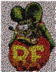 Amazing Rat Fink Bottlecap mosaic print , Rat Fink - n/a, Final Score Products  - 1