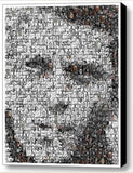 Framed Steve McQueen Mosaic 9X11 inch Limited Edition Art Print w/COA , Other - n/a, Final Score Products  - 1