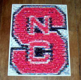 NC State Wolfpack Montage #ed to just 25!! , College-NCAA - n/a, Final Score Products  - 1