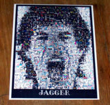 Amazing The Rolling Stones Mick Jagger montage. 1 of 25 , Other - n/a, Final Score Products  - 1