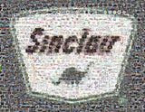 Amazng vintage Sinclair sign Gas/Oil Montage. just 25 , Sinclair - Sinclair, Final Score Products  - 1