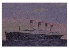 Titanic victims name Mosaic INCREDIBLE 19X13 inch Limited Edition Art w/COA , Other - n/a, Final Score Products  - 1