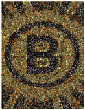 Incredible Boston Bruins Hockey Puck mosaic print , Hockey-NHL - n/a, Final Score Products  - 1
