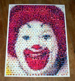 Amazing RARE Ronald McDonald McDonalds FOOD Montage , Other - McDonald's, Final Score Products  - 1