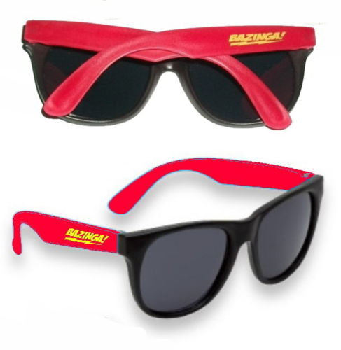 The Big Bang Theory Sheldon Cooper BAZINGA mens womens red Sunglasses prop , Other - n/a, Final Score Products  - 1