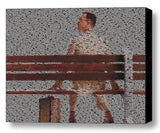 Tom Hanks Forrest Gump Quotes Mosaic INCREDIBLE FramedLimited Edition Art w/COA , Other - n/a, Final Score Products  - 1