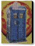 Framed Dr. Who Tardis Bottlecap Mosaic 9X11 inch Limited Edition Art Print w/COA , Dr. Who - n/a, Final Score Products  - 1