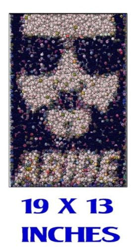 Amazing The Big Lebowski Abide Dude 19X13 Bottlecap mosaic Limited Edition print