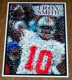 Amazing Troy Smith Ohio State U. Montage 1 0f only 25 , College-NCAA - n/a, Final Score Products  - 1