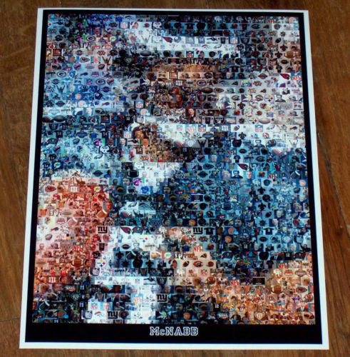 Amazing Donavan McNabb NFL Montage 1 of only 25 , Football-NFL - n/a, Final Score Products  - 1