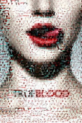 Amazing 19 X 13 True Blood Mosaic Limited Edition w/COA , Color - n/a, Final Score Products  - 1