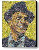LIMITED Framed Frank Sinatra Las Vegas Casino Poker Chip mosaic print w/COA , Other - n/a, Final Score Products  - 1