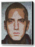 Framed 9X11 Eminem M&Ms Candy incredible Mosaic Limited Edition Art Print COA , Eminem - n/a, Final Score Products  - 1