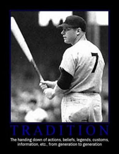 RARE Framed NY Yankees Mickey Mantle TRADITION Poster , Baseball-MLB - n/a, Final Score Products  - 1
