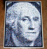 Amazing George Washington on the Dollar MONEY Montage , Other - n/a, Final Score Products  - 1
