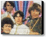 Framed The Monkees tv show scene mosaic 9X11 inch Limited Edition Art Print COA , Monkees - n/a, Final Score Products  - 1