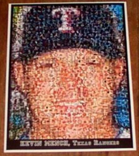 Amazing Texas Rangers Kevin Mench Montage 1 of only 25 , Baseball-MLB - n/a, Final Score Products  - 1