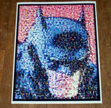 Amazing RARE Batman poster Montage. 1 of only 25 ever , Figurines - n/a, Final Score Products  - 1