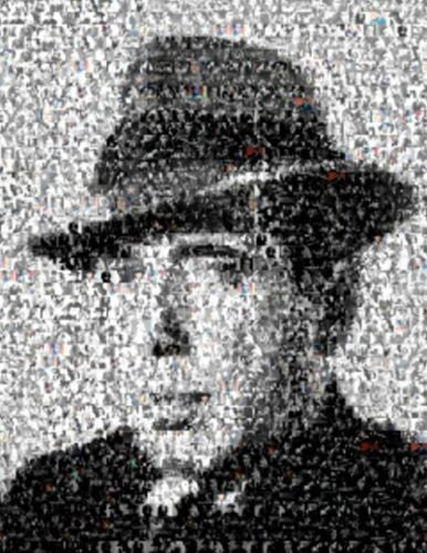 Amazing Humphrey Bogart Montage Mosaic LIMITED EDITION , Other - n/a, Final Score Products  - 1