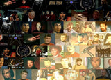 Amazing Captain James T Kirk STAR TREK Montage w/COA , Captain Kirk - n/a, Final Score Products  - 2