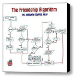 The Big Bang Theory Framed Sheldon Cooper Friendship Algorithym , Reproductions - n/a, Final Score Products  - 1