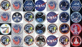 Amazing NASA Mission Patches collection Mosaic w/COA , Other - n/a, Final Score Products  - 2