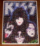Amazing KISS Rock & Roll Bands poster montage 1 of 25!! , Other - n/a, Final Score Products  - 1