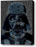 Star Wars Darth Vader Quotes Mosaic INCREDIBLE Framed 9X11 Limited Edition Art , Darth Vader - n/a, Final Score Products  - 1