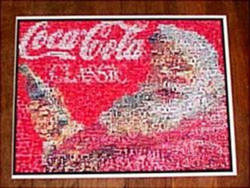 Amazing Coca-Cola COKE Santa Claus Montage. 1 of 25