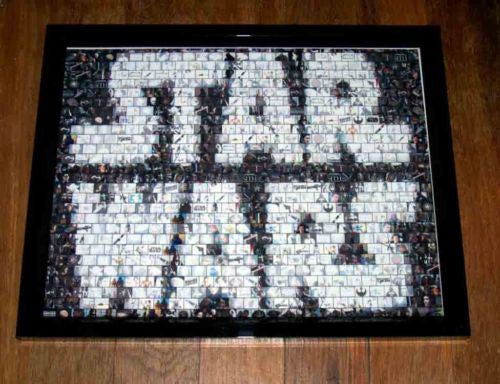 Amazing Star Wars Framed Montage display 1 of only 25 , Other - star wars, Final Score Products  - 1