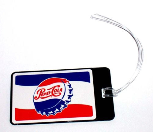 Cool Vintage Pepsi Cola Cap ad Luggage or Book Bag Tag